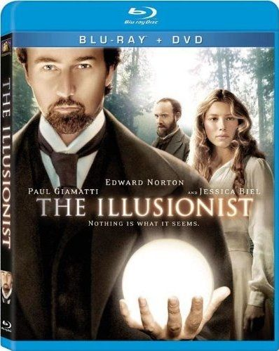 <strong><em>The Illusionist</em></strong> Blu-ray