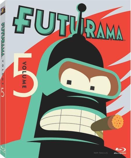 <strong><em>Futurama</em></strong> Volume 5 Blu-ray artwork