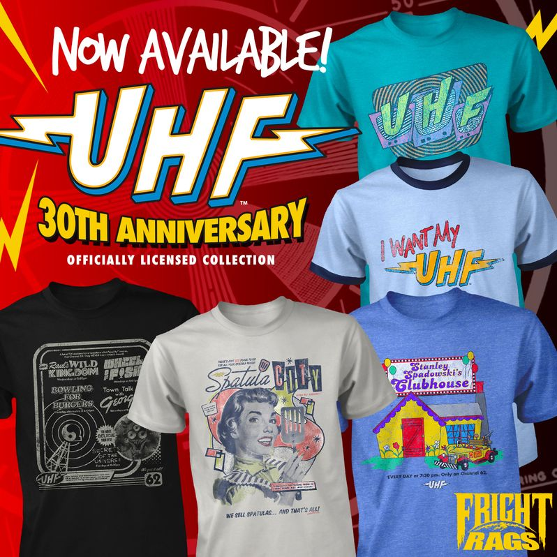 <strong><em>UHF</em></strong> Fright-Rags Collection