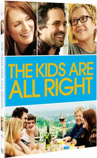 <strong><em>The Kids Are All Right</em></strong> DVD artwork