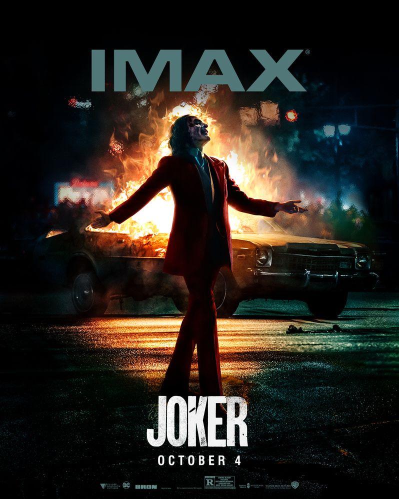 <strong><em>Joker</em></strong> IMAX poster