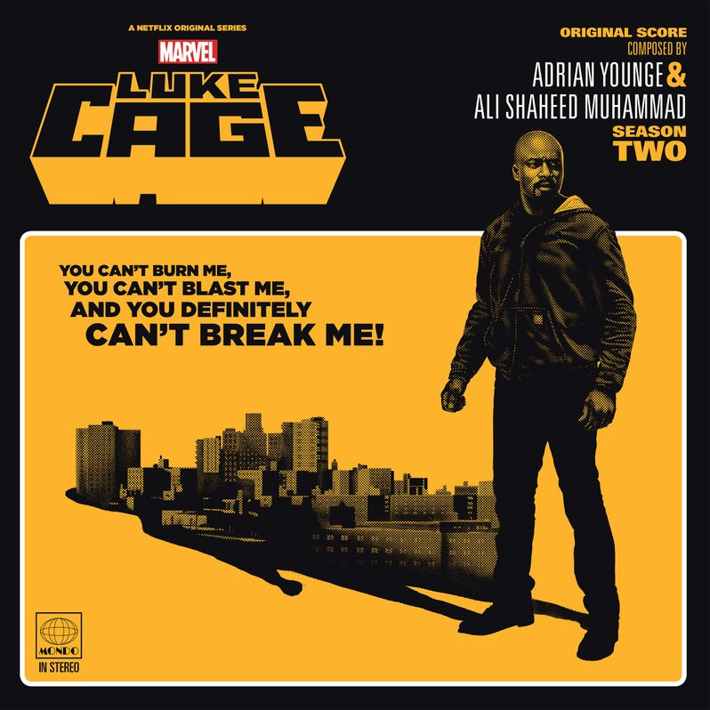 Luke Cage Season 2 soundtrack
