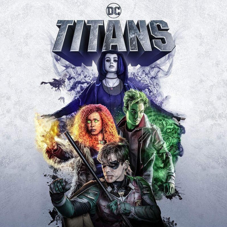 <strong><em>Titans</em></strong> Season 1 Blu-ray Cover