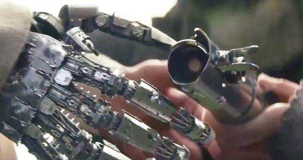 Luke Skywalker's Severed Hand
