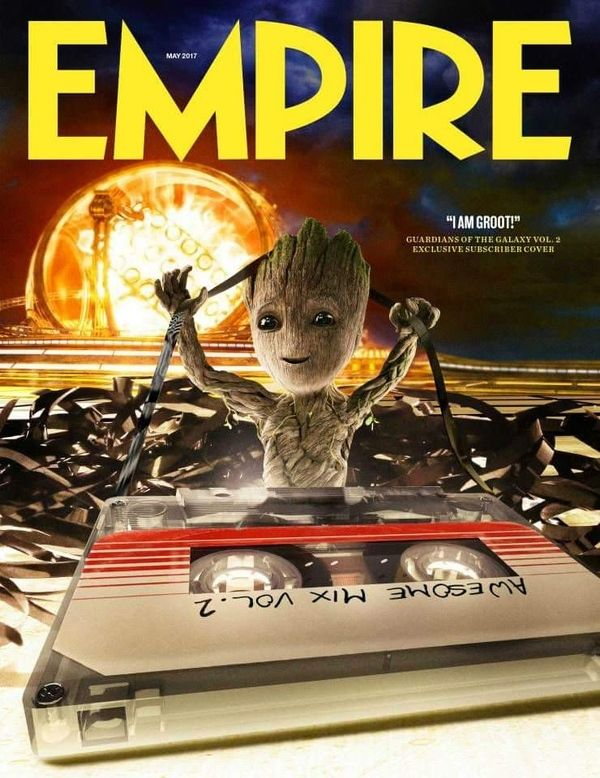 <strong><em>Guardians of the Galaxy Vol. 2</em></strong> Empire Cover