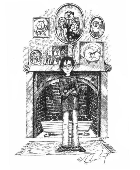 Harry Potter Sketch 7