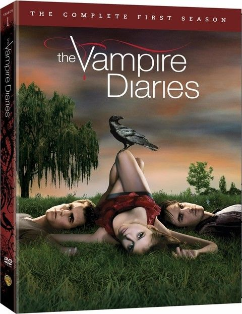 <strong><em>The Vampire Diaries</em></strong>: The Complete First Season DVD artwork