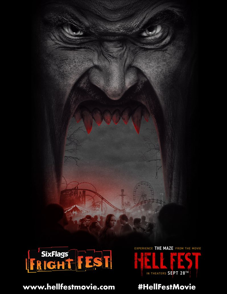 <strong><em>Hell Fest</em></strong> Six Flags Fright Fest