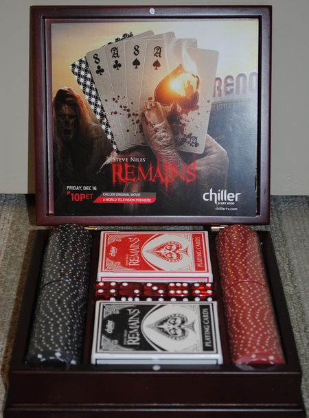 Win a Poker Set from <strong><em>Steve Niles' Remains</em></strong>