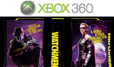 <strong><em>Watchmen</em></strong> Contest X-Box Consol