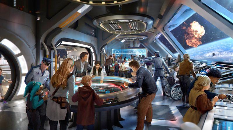 Disney Parks Star Wars Starcruiser Resort Disney World #2