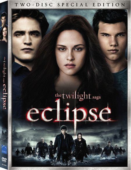 <strong><em>The Twilight Saga: Eclipse</em></strong> two-disc DVD artwork
