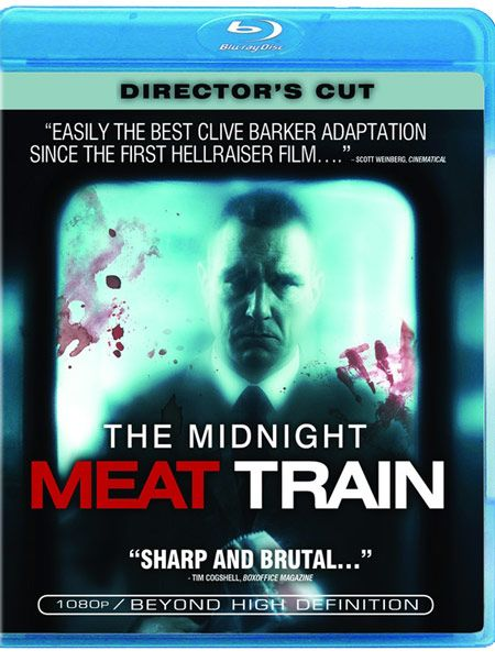 <strong><em>Midnight Meat Train</em></strong> Blu-ray