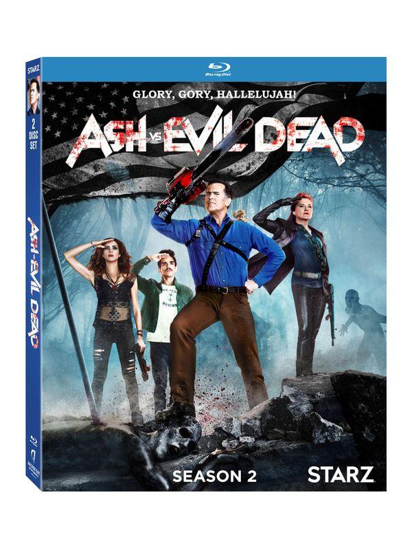 <strong><em>Ash Vs. Evil Dead</em></strong> Season 3 Blu-ray Artwork