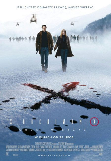 X-Files: I Believe International Poster