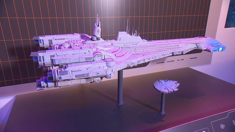Star Wars Galactic Starcruiser Resort model