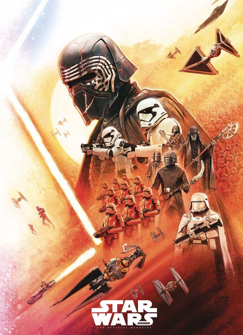 Cover of Rise of Skywalker Star Wars Insider magazine