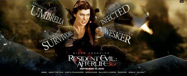<strong><em>Resident Evil: Afterlife</em></strong> Official Site