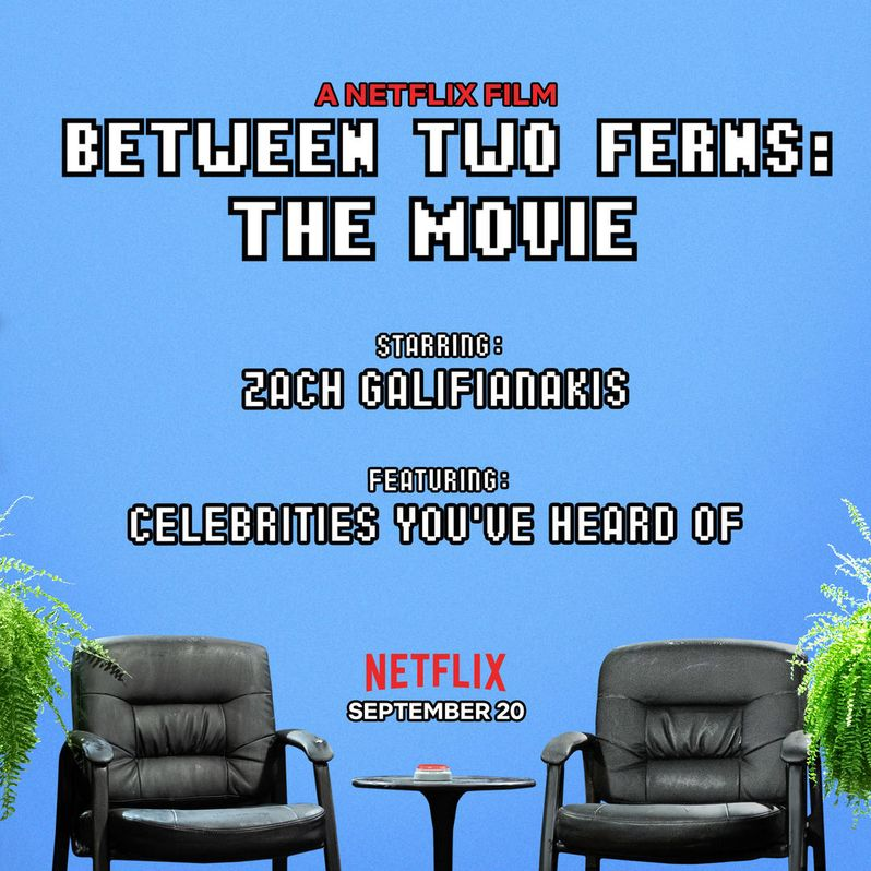 Between Two Ferns The Movie Announcement