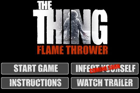 <strong><em>The Thing</em></strong> Flamethrower Game Screenshot 1