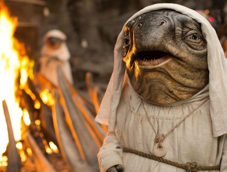 Caretaker Last Jedi Deleted Scene
