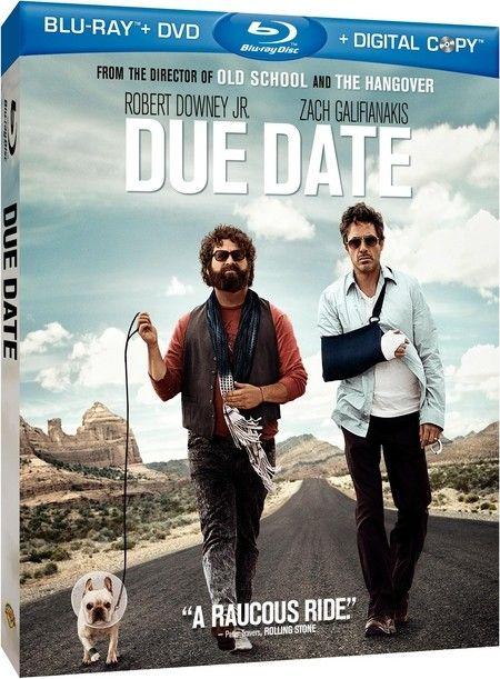 <strong><em>Due Date</em></strong> Blu-ray artwork