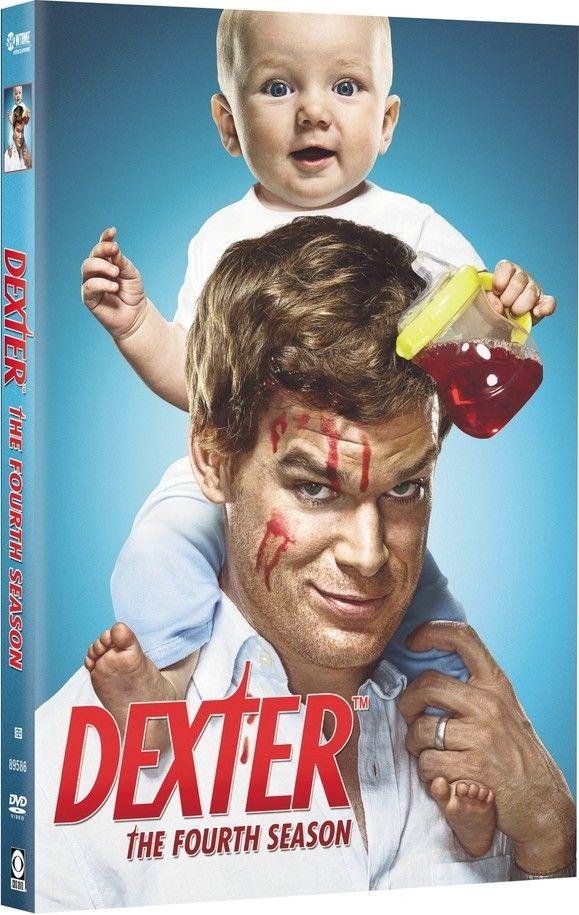 <strong><em>Dexter</em></strong>: The Fourth Season DVD cover