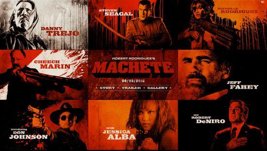 <strong><em>Machete</em></strong> Official Movie Site
