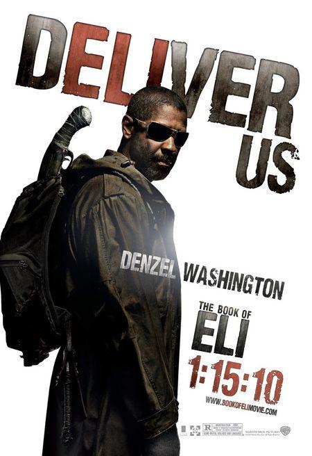 <strong><em>The Book of Eli</em></strong> Denzel Washington character poster