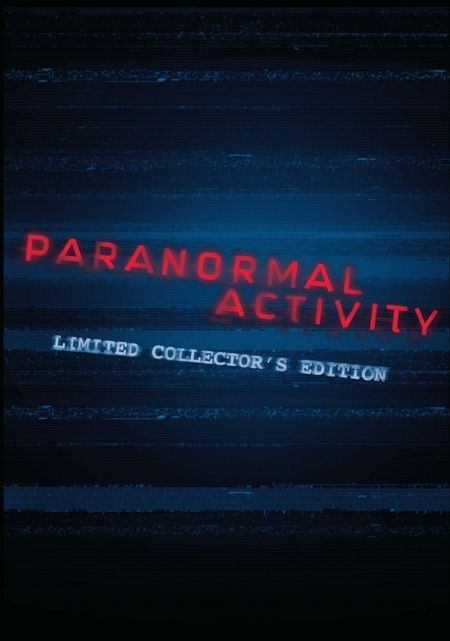 Paranormal Activity Limited Edition DVD