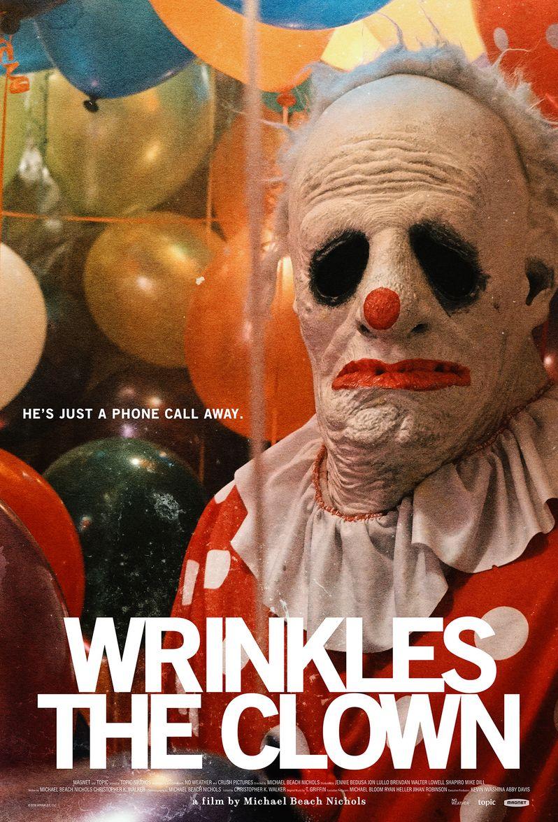 <strong><em>Wrinkles the Clown</em></strong> poster