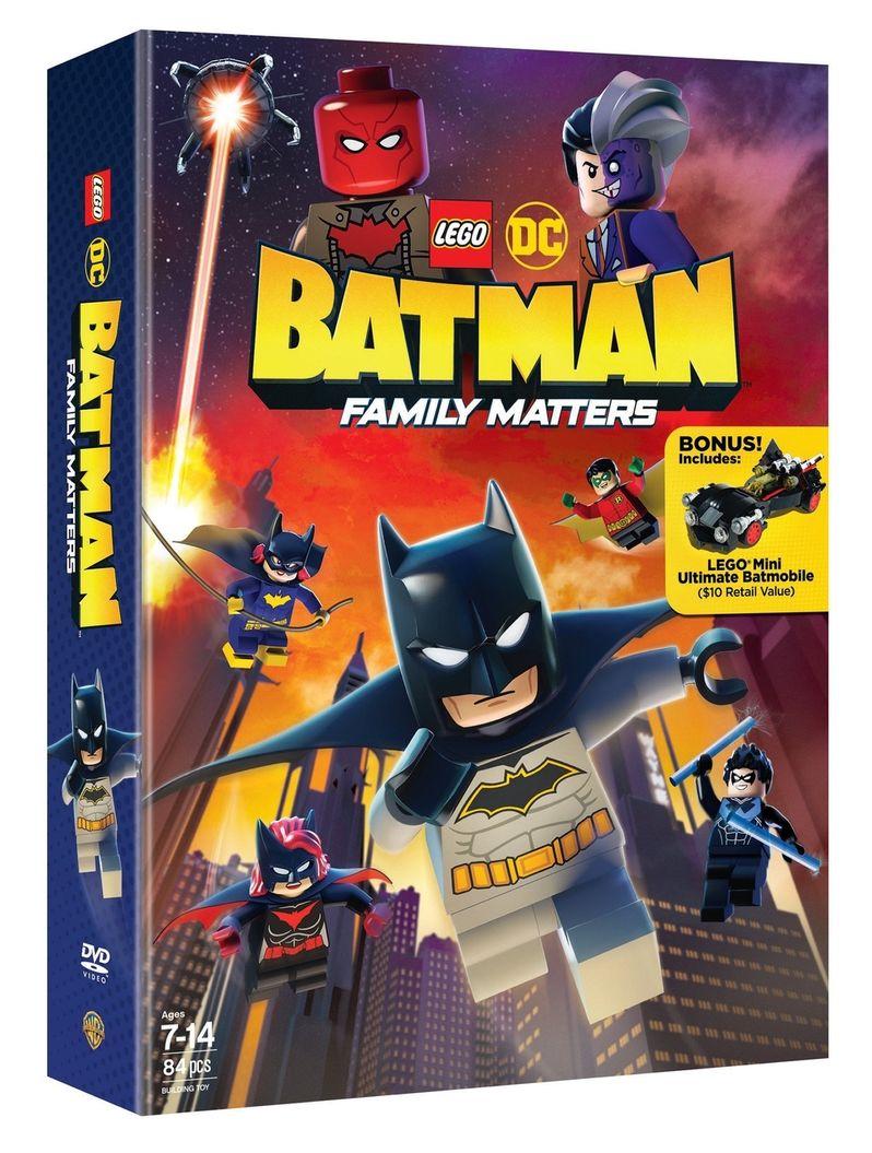 <strong><em>LEGO DC: Batman - Family Matters</em></strong> blu-ray cover art #2