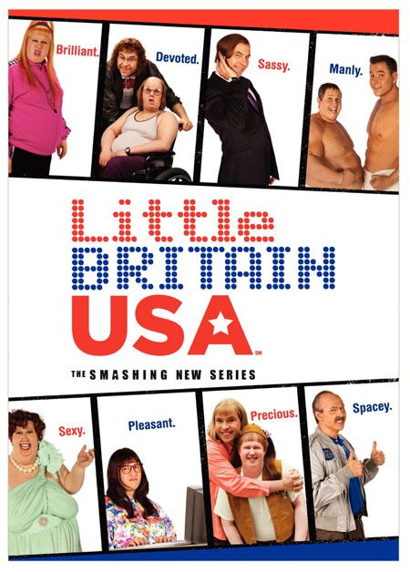 <strong><em>Little Britain USA</em></strong> DVD