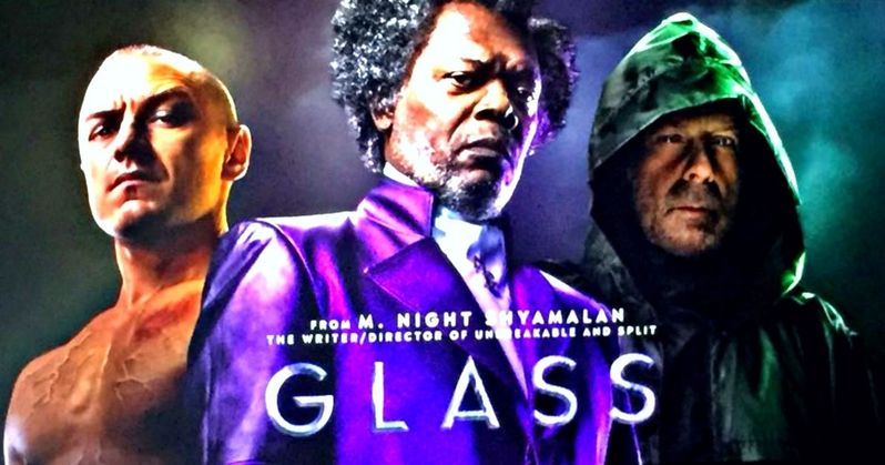 First Glass Footage Description Unites Split & Unbreakable Supervillains