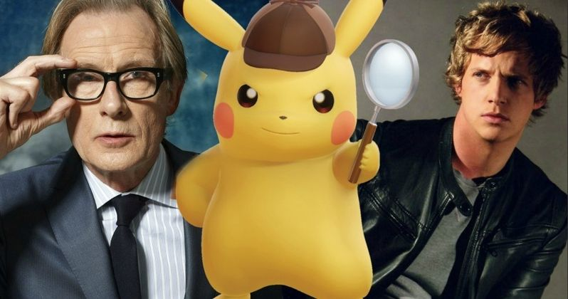 Detective Pikachu Brings in Bill Nighy and Chris Geere
