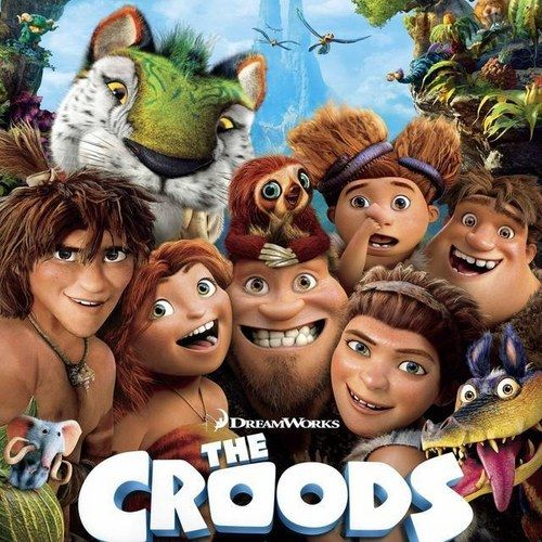Two New The Croods Posters