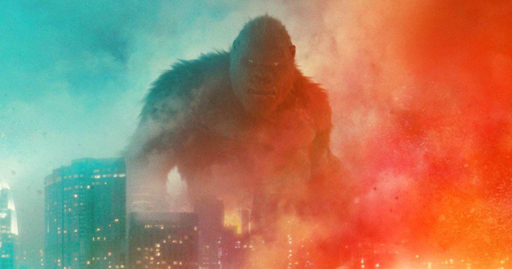 Новый Годзилла против.  Плакат Конга обещает, что один упадет, первый трейлер выйдет в это воскресенье