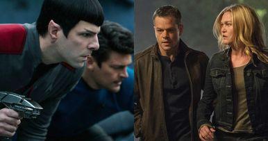 Jason Bourne Goes Gunning for Star Trek Beyond at the Box Office