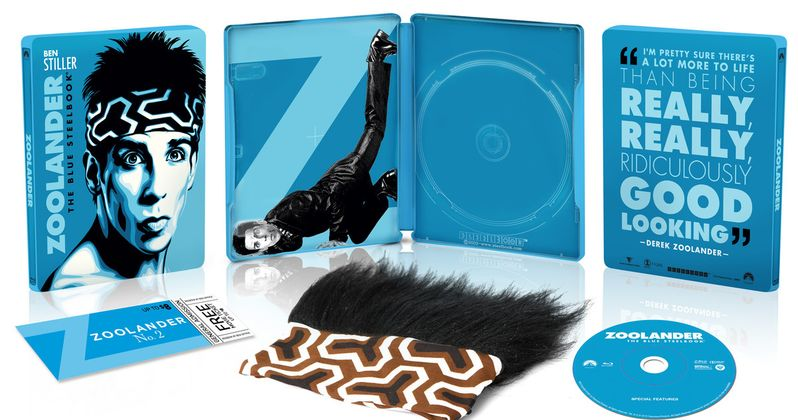 GIVEAWAY: Win the Zoolander Steelbook Blu-ray Gift Set