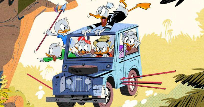 Ducktales Revival First Look Reunites Scrooge McDuck & His Team