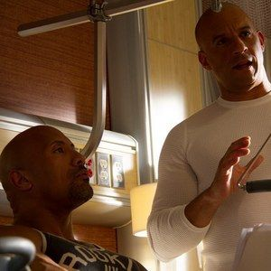 First Look at Dwayne Johnson in Fast & Furious 7