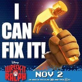 Wreck-It Ralph Fix-It Felix Hammer Commercial