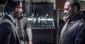 John Wick 2 Photo Reunites Matrix Stars Keanu Reeves & Laurence Fishburne