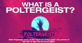 Poltergeist Clip & Infographic: What Is a Poltergeist?