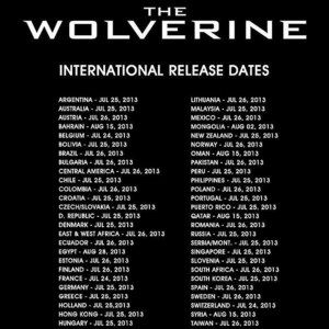 The Wolverine Worldwide Release Dates Announced