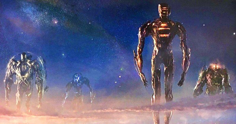 The Eternals Concept Art Reveals Marvel's Mighty Celestials