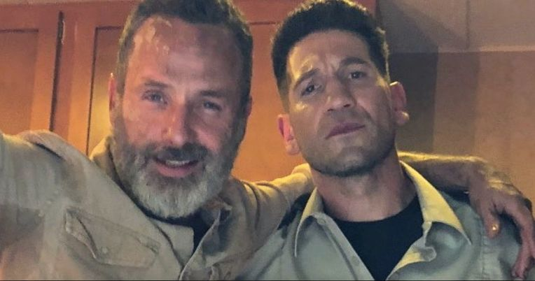Rick and Shane Reunite in Walking Dead Set Photo Shared by Jon Bernthal