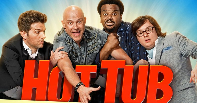 Hot Tub Time Machine 2 Unrated Cut Gag Reel   EXCLUSIVE