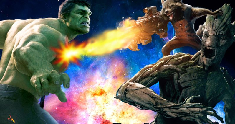 Vin Diesel Teases Groot Vs. Hulk Fight, Rocket Raccoon Spin-Off