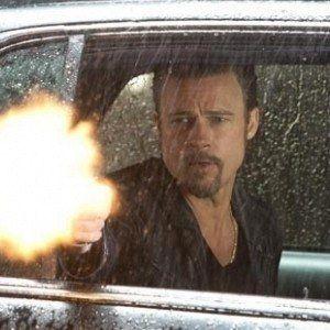 Six Killing Them Softly Photos with Brad Pitt and James Gandolfini